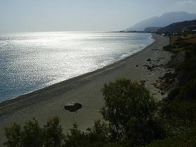 Kastri strand, Kreta