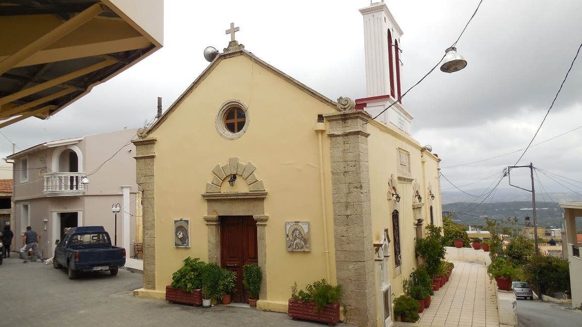 The church in Katalagari
