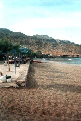 The beach at Kato Zakros