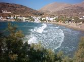 Kini strand, Syros