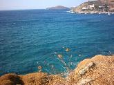 De omgeving van Kini strand