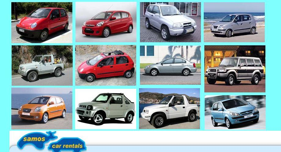 Samos car rental