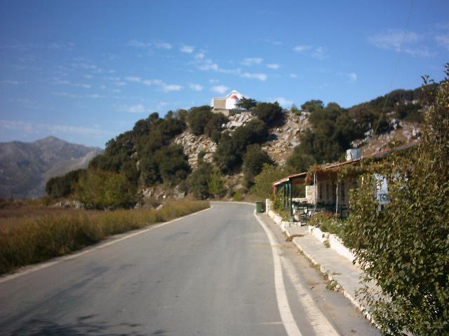 Lasithi Plain, Crete, Lasithi vlakte Kreta.