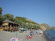 Lesbos, Skala Eressos strand
