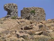 Lesbos, old windmills