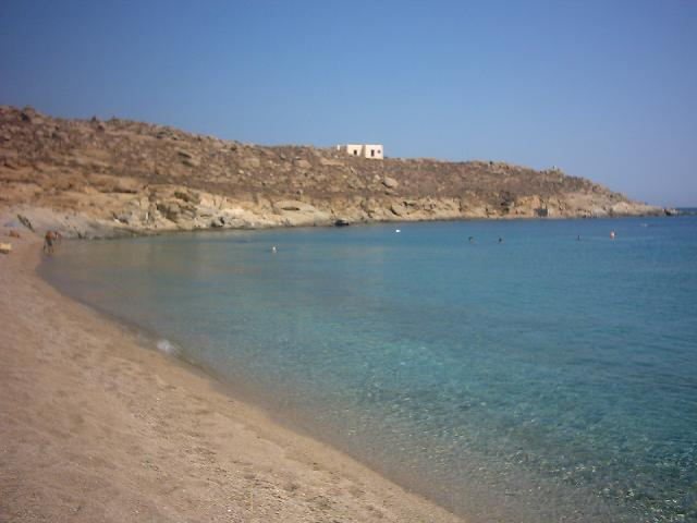 het stukje Lia beach zonder de parasolletjes