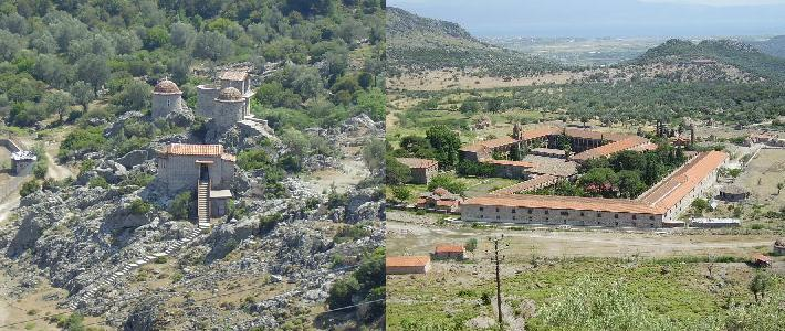 Limonos Monastery Lesbos
