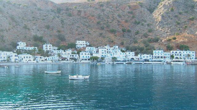 Loutro, Crete, Kreta.