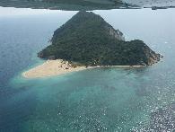 Marathonissi eiland en Keri Baai