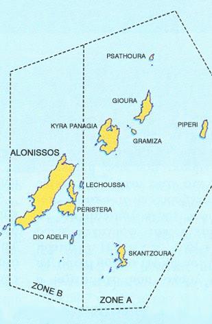 Marine Park van Alonissos