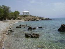 Samos, Messokampos beach