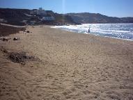Megali Amos strand.