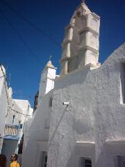 A church in Mykonos Town