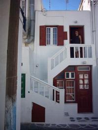 Our studio in Mykonos Town