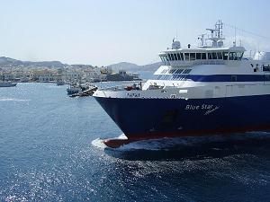 Ferries in Greece