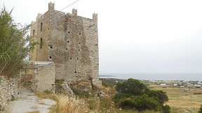Naxos tower