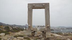Naxos chora.
