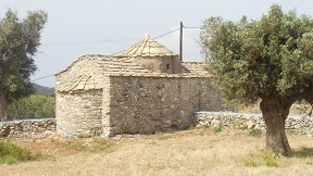 Naxos Byzantine church