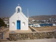 Een kerkje bij Ornos
