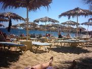 View over Paranga beach.