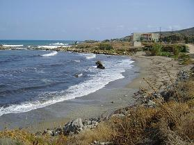 Petres beach, Crete, Kreta