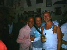 Maxim en de Belgische vrienden.