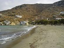 Rochari Beach on Tinos