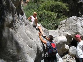 Sarakina Kloof, Kreta, Sarakina Gorge, Crete