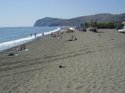 Lesbos, Eressos strand