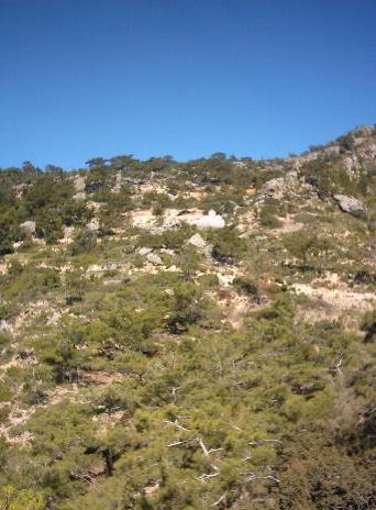 omgeving van Sougia