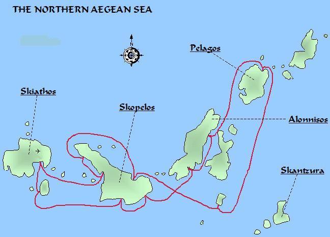 Map Sporades