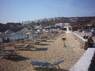 Agios Stefanos Beach in Mykonos