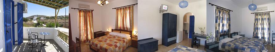Iraklia island hotels