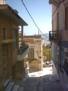 Straat in Ermoupolis