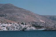 De boot in Telendos