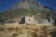 Het kasteel van Telendos