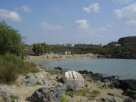 Tersanas beach, Crete
