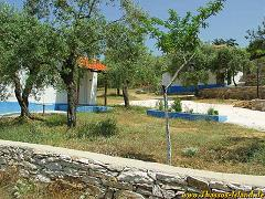 Thassos, Mathios Cottages, Psili Amos Beach.