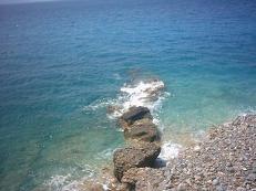 Tholos Beach - Tholos strand.