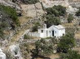kerk op Tinos in Griekenland.