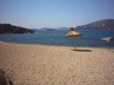 The beach of Agia Anna near Paranga