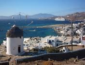 A windmill Mykonos town