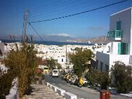 View over Mykonos town