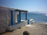 A cottage on the beach of Isternia Bay