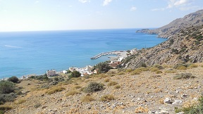 Tsoutsouros beach, Kreta