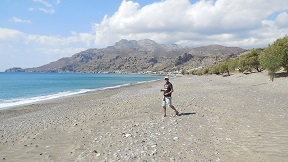 Tsoutsouros beach, Crete, Kreta