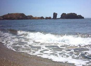 Vai beach.