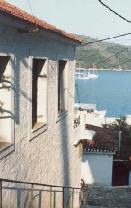 Haven van Skiathos stad