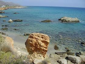 Xerokampos Beach, southeast Crete