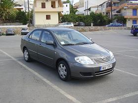 Our car, onze auto, Agia Pelagia